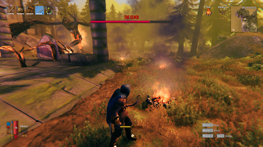 Valheim Bonfire Trap