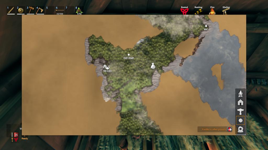 Valheim Spawn Map