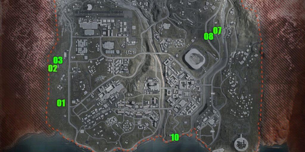 Warzone Active Bunkers Season 2