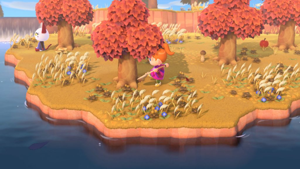Animal Crossing Trees Fall