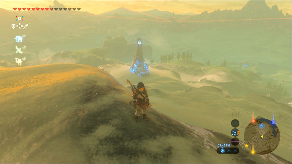 Breath of the Wild Shrine Location