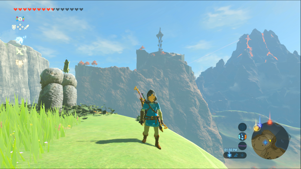 Breath of the Wild Tower Location