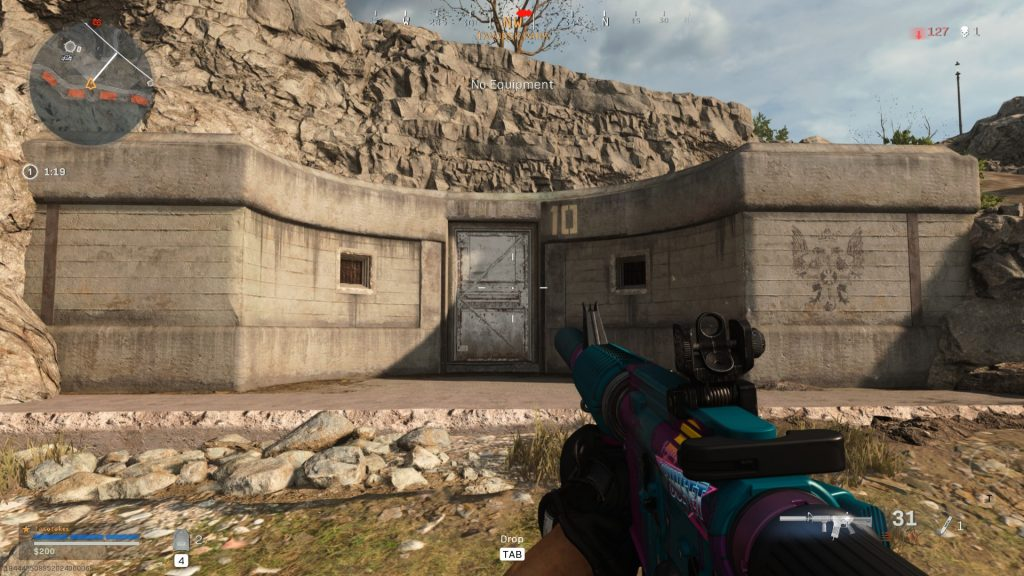 Warzone Bunker Exterior
